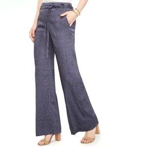 Ann Taylor High Rise Wide Leg Portofino Pants